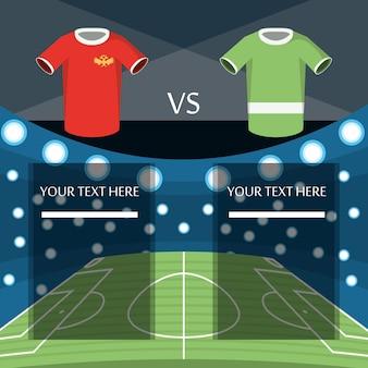 d5accab5e1 Design de rússia de copa do mundo de futebol com camisas uniformes de  futebol
