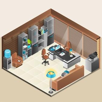 Design de sala de escritório