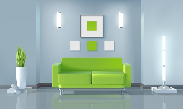 Design de sala de estar