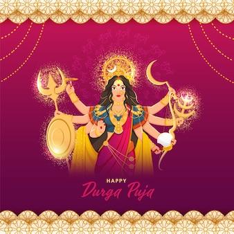 Design de saudação feliz de diwali