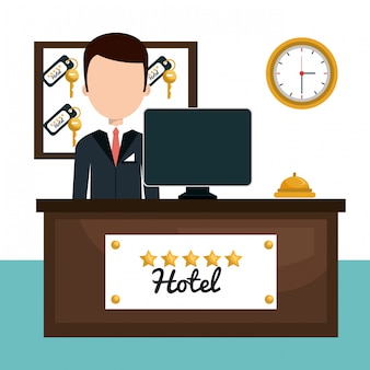 Design de serviço de hotel