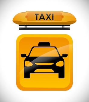 Design de serviço de táxi