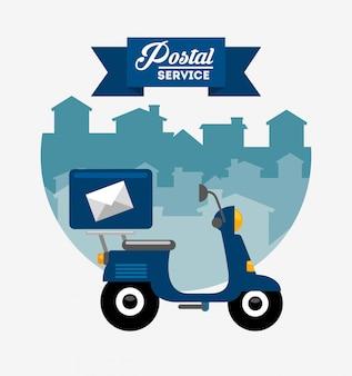 Design de serviço postal