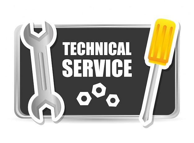 Design de serviço técnico.