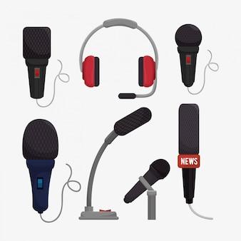 Design de serviços de microfone