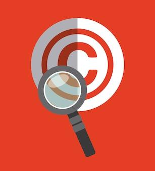 Design de símbolo de direitos autorais