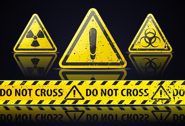 Design de sinal de perigo