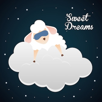 Design de sonhos doces.