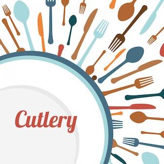 Design de suprimentos de cozinha