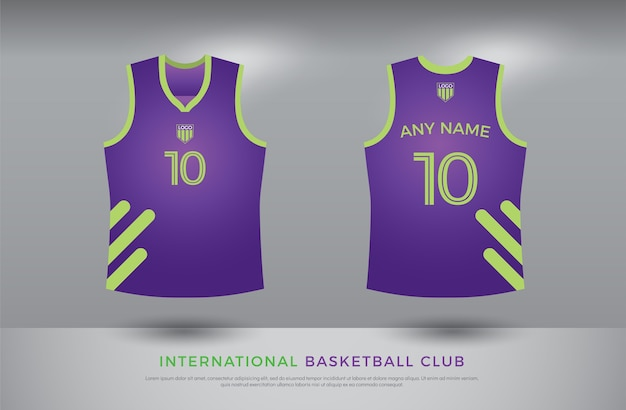 Design de t-shirt de basquete
