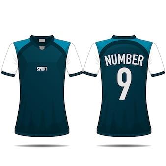 Design de t-shirt do esporte.
