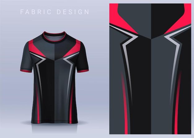 Design de tecido têxtil para camiseta camisa de futebol