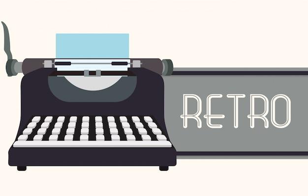 Design de tecnologia retro