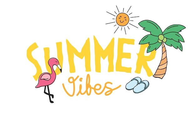 Design de tees de verão