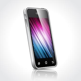 Design de tela do telefone móvel