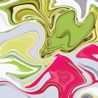 Design de textura de mármore líquido, superfície de mármore colorida, design de pintura abstrata vibrante
