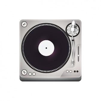 Design de toca-discos