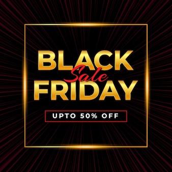 Design de venda da black friday