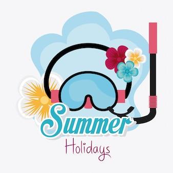 Design de verão.