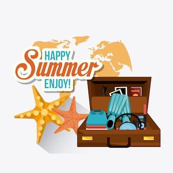 Design de verão
