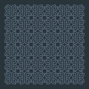 Design de vetor de fundo escuro padrão