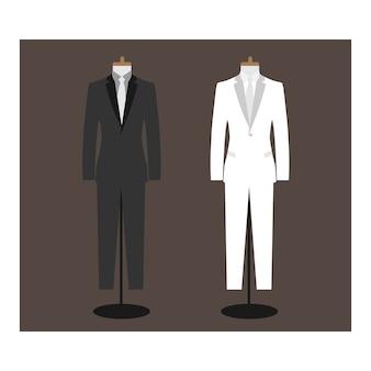 Design de vetor uniforme de negócios
