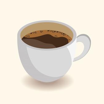 Design de xícara de café