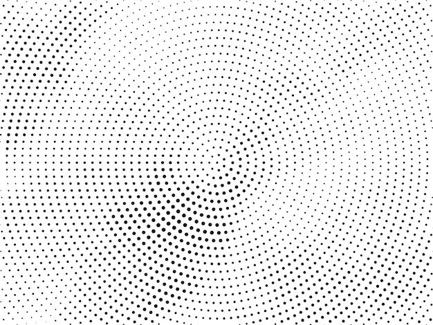 Design decorativo de meio-tom abstrato