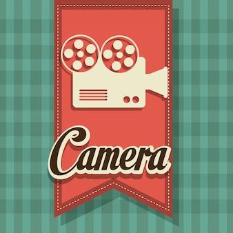 Design digital de câmera.