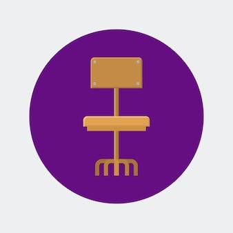 Design digital de ícones de terceirização
