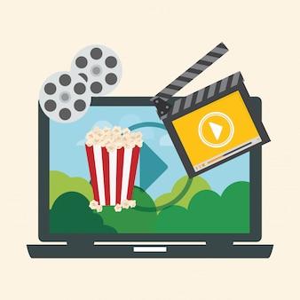 Design digital do filme