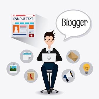 Design do blog.