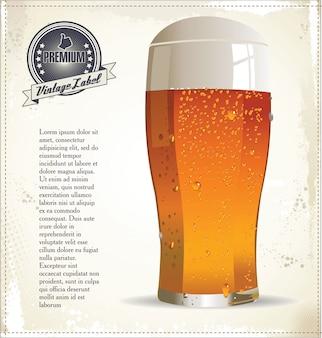 Design do café da cerveja