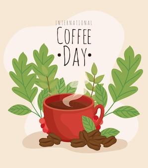 Design do dia do café
