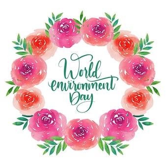 Design do dia mundial do meio ambiente