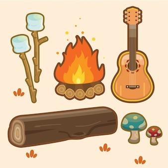 Design do elemento bonfire