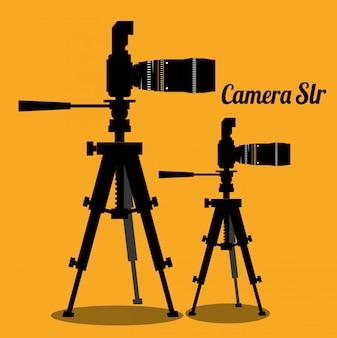 Design do equipamento da câmera