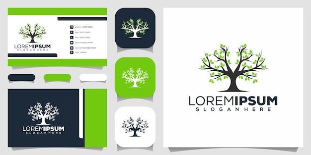 Design do logotipo da árvore