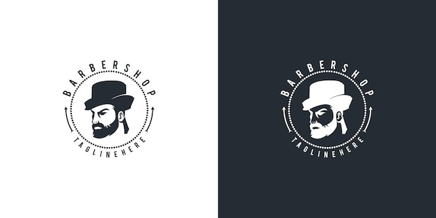 Design do logotipo da barbearia