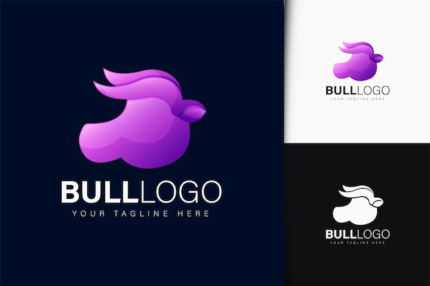 Design do logotipo da bull