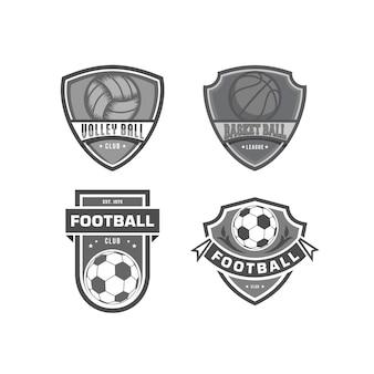 Design do logotipo da equipe esportiva