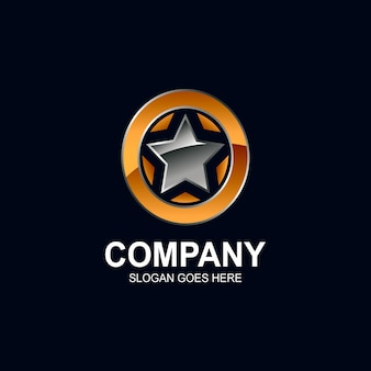 Design do logotipo da estrela
