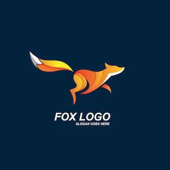 Design do logotipo da fox
