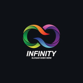Design do logotipo da infinity
