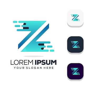 Design do logotipo da letra z