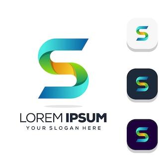 Design do logotipo da letra