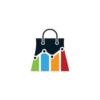 Design do logotipo da loja de estatísticas