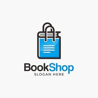 Design do logotipo da loja de livros