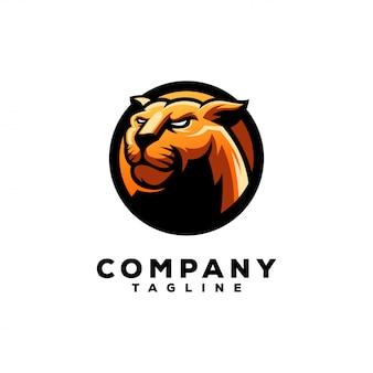Design do logotipo da pantera