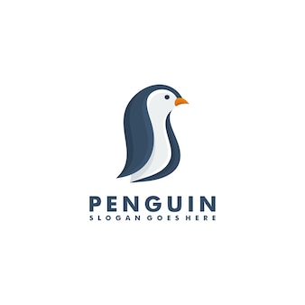 Design do logotipo da penguin